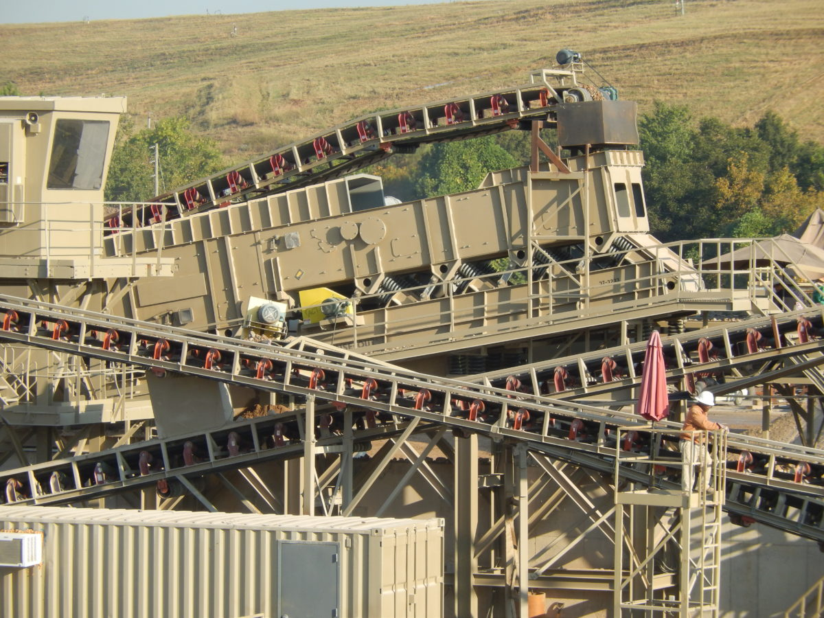 Crushing Line DENSE-OUT® for C&D Waste