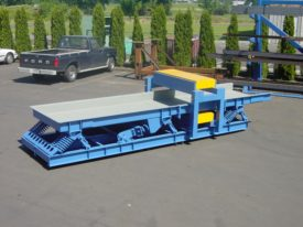 Conveyor with Over/Under Metal Detector System